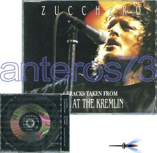 "ZUCCHERO ""4 TRACKS TAKEN FROM LIVE AT THE KREMLIN"" CDsingolo PROMO JOHN LENNON"