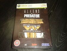 NEW SEALED Aliens VS Predator Hunter Collectors Edition XBOX 360 (w/ FACEHUGGER!