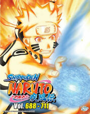 Naruto Shippuden (Box 24) Vol. 688 - 711 Box Set DVD with English Subtitle