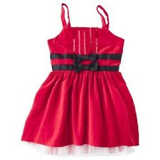Harajuku Girls Dress 7 8 Red Velvet Sequins Holiday Wedding New