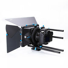 FOTGA DP3000 M3 DSLR Swing-away Matte Box+Filter Holder+4 Donuts fr 15mm Rod Rig