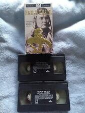 End Of The Trail - VHS Video Tape - The Indian's Story - Documentary -2 Tape Set