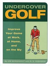 Undercover Golf  BRAND NEW SOFTCOVER BOOK