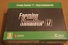 FARMING SIMULATOR 17 COLLECTORS EDITION PL PC DVD NOWA POLSKI POLISH