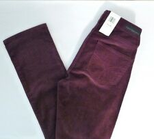 NEW Calvin Klein Jeans Women's Straight Leg Power Stretch CORDUROY Pant 2 X 32