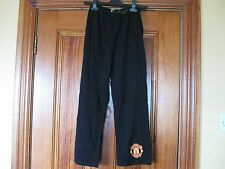 Manchester United Boys Black Cotton Pyjama Bottoms age 8-9 Brand New with Tag