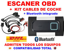 DIAGNOSIS BLUETOOTH OBD ECU VCI +KIT 8 CABLES OBD2 ESCANER LECTOR COCHE CAMION