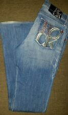 Rock and Republic Kasandra Women's Jeans Size 26 Low Rise Embellished