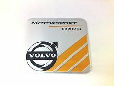 NEW Brushed Aluminium Volvo Motorsport Europe Car Badge XC90