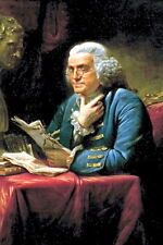 New 5x7 Photo: U.S. Founding Father, Statesman and Inventor Benjamin Franklin