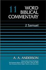 NEW - Word Biblical Commentary Vol. 11, 2 Samuel  (anderson), 342pp