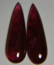 Rare Natural red pink Tourmaline,18.04ct,25x9mm전기석,電氣石,Turmalina rosa, rubelite