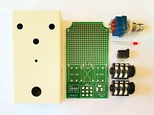 DIY ***Deluxe*** Universal Effect pedal Kit    PCB-With Parts And Enclosure