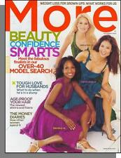 More Magazine - 2005, November - Over Age 40 Model Search, Adult Weight Loss
