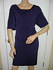 NWT Connected Apparel Dark Purple Dress Women's Plus Size 24W  Ret. $89