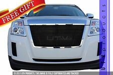 GTG 2010 - 2015 GMC Terrain 4PC Gloss Black Replacement Billet Grille Grill Kit