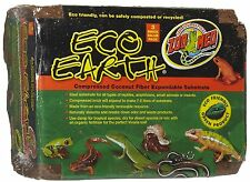 Zoo Med Eco Earth Compressed Coconut Fiber Substrate,3 Bricks (EE20) BRAND NEW