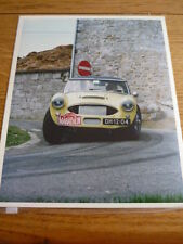 FRAMEABLE QUALITY AUSTIN HEALEY 3000, DH 12 04,  HISTORIC RALLY PHOTOGRAPH jm
