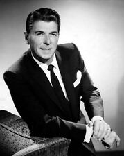 Film Actor, President RONALD REAGAN Glossy 8x10 Photo Portrait Poster Print