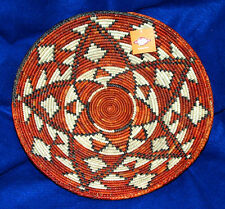 "Southwestern Basket Finely Handwoven Collectible Decorative 14x2.75"" NEW #63"