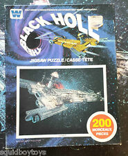 THE BLACK HOLE : CYGNUS 200 piece vintage PUZZLE 1979 Whitman / DISNEY