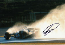 David Coulthard Hand Signed West McLaren Mercedes Photo 12x8 3.
