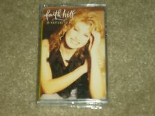 """Faith Hill """"It Matters To Me"""" Cassette tape NEW. Buy 5+ tapes etc get free shipn"""