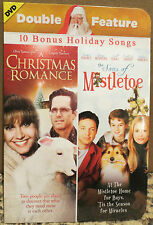 Double Feature A Christmas Romance / The Sons of Mistletoe NEW