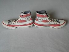 Converse ALL STAR USA AMERICA American Stars & Stripes Hi-Top Scarpe, UK 7