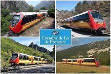 SOUVENIR FRIDGE MAGNET of THE TRAIN DES PIGNES PROVENCE FRANCE