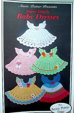 Crochet Super Simple Baby Dresses  Patterns  Annie Potter Original