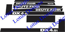 deutz fahr DX4.51 stickers / decals