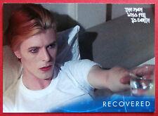 David BOWIE-L' uomo che cadde sulla terra-CARD #18 - RECUPERATO-inarrestabile
