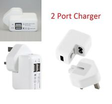 USB Main Multi Ports Wall Charger Adapter For iPhone iPad Samsung HTC LG-2 Port