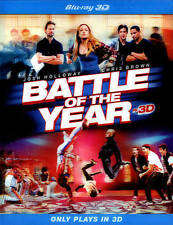 Battle of the Year (Blu-ray Disc, 2013; Plays in 3D only) Caity Lotz, Laz Alonso