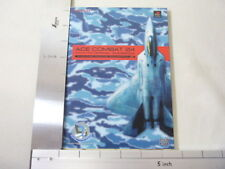 ACE COMBAT 04 Shattered Skies Game Guide Japan Book Play Station EB6421*
