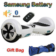 Electric Scooter 6.5inch Self Balancing Wheel Unicycle BluetoothLedBalance Board