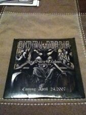 dimmu borgir in sorte diaboli advanced 2 track cd sampler black metal sealed