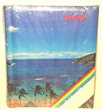 Vintage Hawaii Hanauma Bay Beach Scene 20 Page Photo Album Sealed 70's/80's