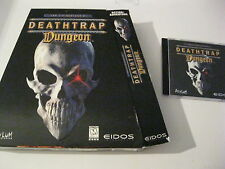 Deathtrap Dungeon PC game CD-ROM and box only Asylum Studios 1998