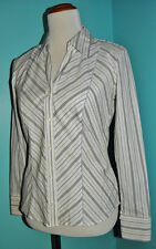 Marks & Spencer Fitted Button Up Shirt Blouse Women's size 10 UK or 6 US NEW