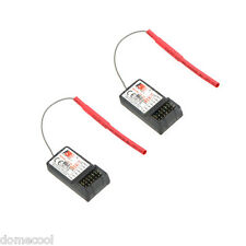 2X Original FlySky FS-R6B 6CH 2.4Ghz Receiver for RC FlySky TH9X FS-CT6B FS-T6