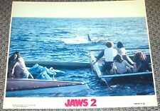 JAWS 2 ORIGINAL US MOVIE LOBBY CARD 8X10 1978