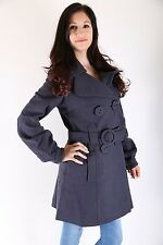 Object Winter Mantel Sophie True Wool Coat Moonlight Plain GR: XS  *only sexy*
