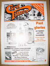 CARD TIMES MAGAZINE FORMERLY CIGARETTE CARD MONTHLY No 112 JUNE 1999