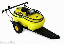 John Deere 15gal Tow Behind Sprayer 100psi Lawn Tractor