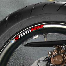 8 x BMW S1000 RR WHEEL RIM STICKERS DECALS 1000rr B