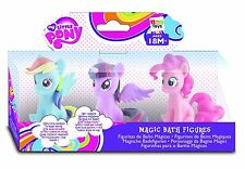 New My Little Pony Magic Bath Bathtime Toy Figures Colour Changing Hair