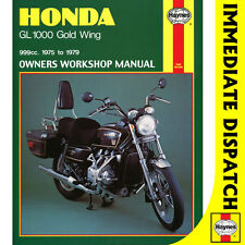 [0309] Honda GL1000 Gold Wing K1 K2 GL1000KZ GL1000LTD 1975-79 Haynes Workshop M