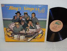 THE KING'S SINGERS Swing LP MMG 1111 (1976) VG+ Jazz US